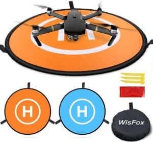 Drone landingsplatform met Mavic Pro erop
